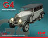 Type G4 WWII German Personnel Car (w/Covere) (Plastic model)