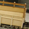 1/80 9mm `Fairy Tale of the North` Hokkaido Simple Trajectory Open Wagon `Milk Car` Kit (Single w/Bogie) (1-Car Unassembled Kit) (Model Train)