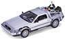 De Lorean DMC-12 (Back to the Future II) (Diecast Car)