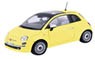 Fiat 500 (Yellow) (Diecast Car)
