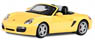 Porsche Boxster S Convertible (Yellow) (Diecast Car)