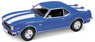 Chevrolet Camaro Z28 1968 (Blue) (Diecast Car)