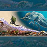 Monster Hunter 3G Monster Size Chart (Anime Toy)