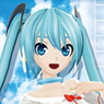Bushiroad Sleeve Collection HG Vol.672 Hatsune Miku -Project DIVA- F 2nd [Nanairo Line] (Card Sleeve)