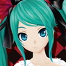 Bushiroad Sleeve Collection HG Vol.673 Hatsune Miku -Project DIVA- F 2nd [Supreme] (Card Sleeve)