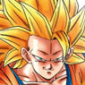 Mini Puzzle 150 piece Super Saiyan 3 Son Goku (Anime Toy)