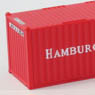 (Z) HAMBURG SUD 20f Marine Container (2pcs.) (Model Train)