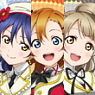 [Love Live!] Clear Bookmarker Set Ver.2 [Second-year Student] (Anime Toy)