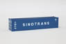(Z) SINOTRANS 40f Marine Container (2pcs.) (Model Train)
