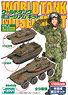 World Tank Museum Kit Vol. 2 Christmas Special Edition w/Tomomin Picture (Set of 10 / Pre-colored Unassembled kit) (Shokugan)