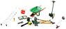 Landscaping Set [Ladder, Grass Cutter, Scoop, Hand Cart, Tool Box etc](Diecast Car)