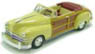 Chrysler Town & Country 1947 Yellow (Diecast Car)