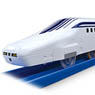 Run by Whistle ! Whistle Controller, Superconducting Maglev Series L0 & Rail Set (3-Car + Track Set) (Plarail)