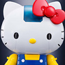 Chogokin Hello Kitty (Blue) (Completed)