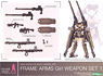 Frame Arms Girl Weapon Set 1 (Plastic model)