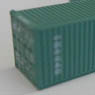 (Z) CHINA SHIPPING 40f Marine Container (2pcs.) (Model Train)