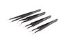 Ultra Fine Needle Shape Tweezers (4 pcs.) (Hobby Tool)