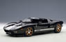 Ford GT (Black/Silver Stripe) (Diecast Car)