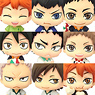 Color Collection Haikyu!! Vol.3 8 pieces (PVC Figure)