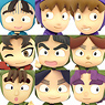 Color Collection Nintama Rantaro C-BOX 10 pieces (PVC Figure)