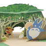 Ghibli ga Ippai POP-UP k!t My Neighbor Totoro - Tunnel of Secret (Anime Toy)