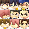 Color Collection Ace of Diamond 8 pieces (PVC Figure)