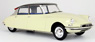 Citroen DS19 TypeI (Cream/Deep Violet) (Diecast Car)