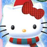 nanoblock Snowman Hello Kitty (Block Toy)