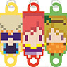 256-tan Mini Love Live! Club System Idol Consolidated Rubber Strap First Grader Ver. (Set of 3) (Anime Toy)