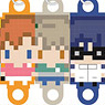 256-tan Mini Love Live! Club System Idol Consolidated Rubber Strap Second Grader Ver. (Set of 3) (Anime Toy)