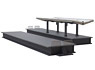 1/80(HO) Island Platform Basic Kit (Unassembled Kit) (Model Train)