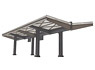 1/80(HO) Platform Roof Kit (Unassembled Kit) (Model Train)