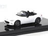 Mazda Roadster (2015) Arctic White (Diecast Car)