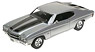 1970 Chevrolet Chevelle SS 454 (Silver) (Diecast Car)