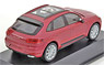 Porsche Macan Turbo Red (Diecast Car)