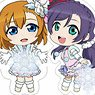 Love Live! LED Key Ring (Set of 9) (Anime Toy)