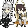 Eformed Bungo Stray Dogs Swing Rubber Strap DX Anime Ver. (Set of 6) (Anime Toy)