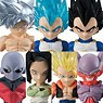 Dragon Ball Adverge 6 (Set of 10) (Shokugan)
