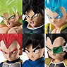Dragon Ball Adverge 9 Movie Special (Set of 10) (Shokugan)