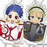 Stand Mini Acrylic Key Ring King of Prism -Shiny Seven Stars- (Set of 10) (Anime Toy)