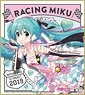 Hatsune Miku Racing Ver. 2019 Mini Colored Paper (2) (Anime Toy)