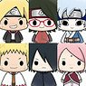 Chokorin Mascot Boruto: Naruto Next Generations (Set of 6) (PVC Figure)