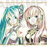 Piapro Characters Trading Ani-Art Mini Colored Paper (Set of 6) (Anime Toy)