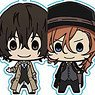 Bungo Stray Dogs Churu Chara Plus Key Chain (Set of 12) (Anime Toy)