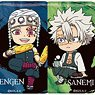 [Demon Slayer: Kimetsu no Yaiba] Trading Hexagon Can Badge Japanese Pattern Ver. Vol.2 (Set of 8) (Anime Toy)