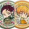 Demon Slayer: Kimetsu no Yaiba Trading Hologram Can Badge Birthday Flower Ver. (Set of 6) (Anime Toy)