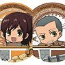 Attack on Titan Trading Can Badge Cup in Series (Set of 9) (Anime Toy)