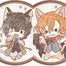 Can Badge [Bungo Stray Dogs] 09 Cat Ver. Box (GraffArt Mini) (Set of 9) (Anime Toy)