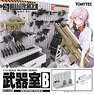 1/12 Little Armory (LD031) Armoury B (Plastic model)