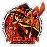 KonoSuba: God`s Blessing on this Wonderful World! Megumin Waterproof Sticker (Anime Toy)